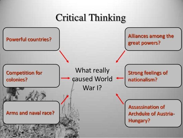 an overview of the causes for the world war one