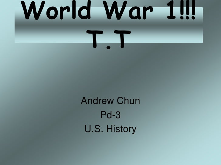 World War 1!!! T[1][1]