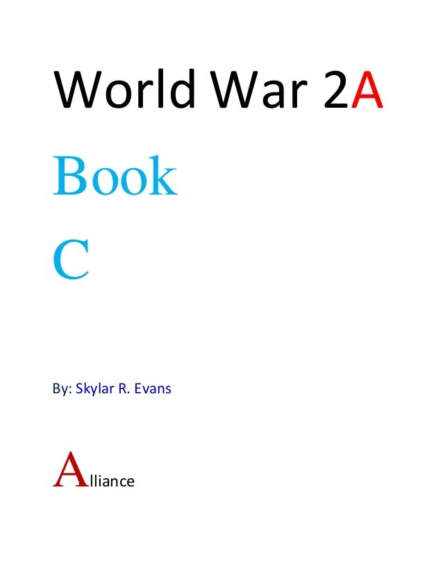 Book reports on world war 2