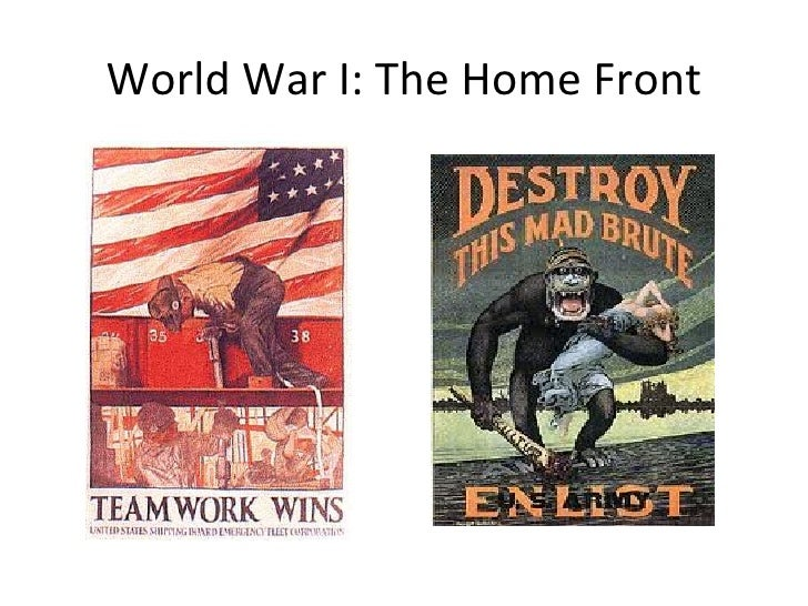 world war one home front Although it was the men who went off to fight the war, the people left behind at home also had a part to play in the war the home front is the name given.