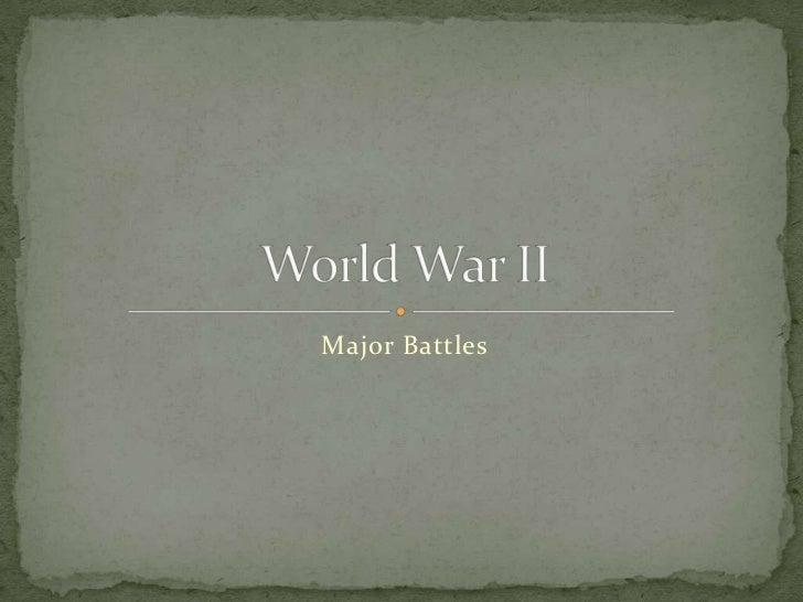 World War 2 alina, samira ,manahil.