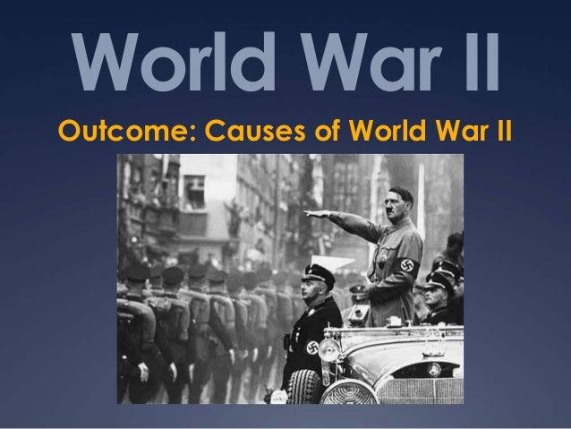 essay on causes of world war 2