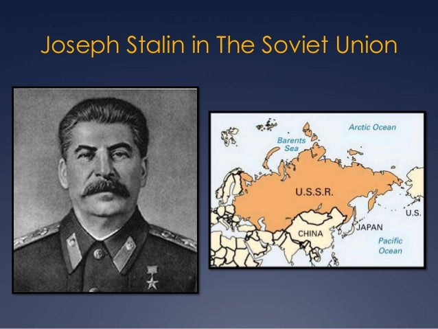 an analysis of the philosophy of joseph stalin in the soviet union Joseph stalin – psychopathology of a dictator considered the soviet regime under joseph stalin during the 1930 s in the soviet union: analysis.