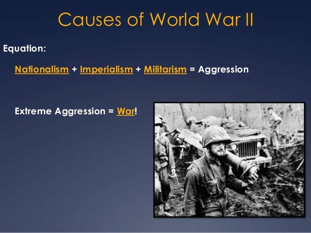 cause of world war 2 essay