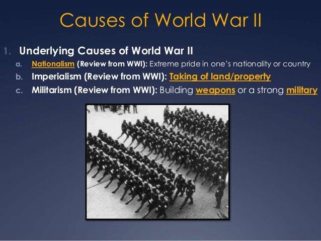 causes of world war   essay   Outline