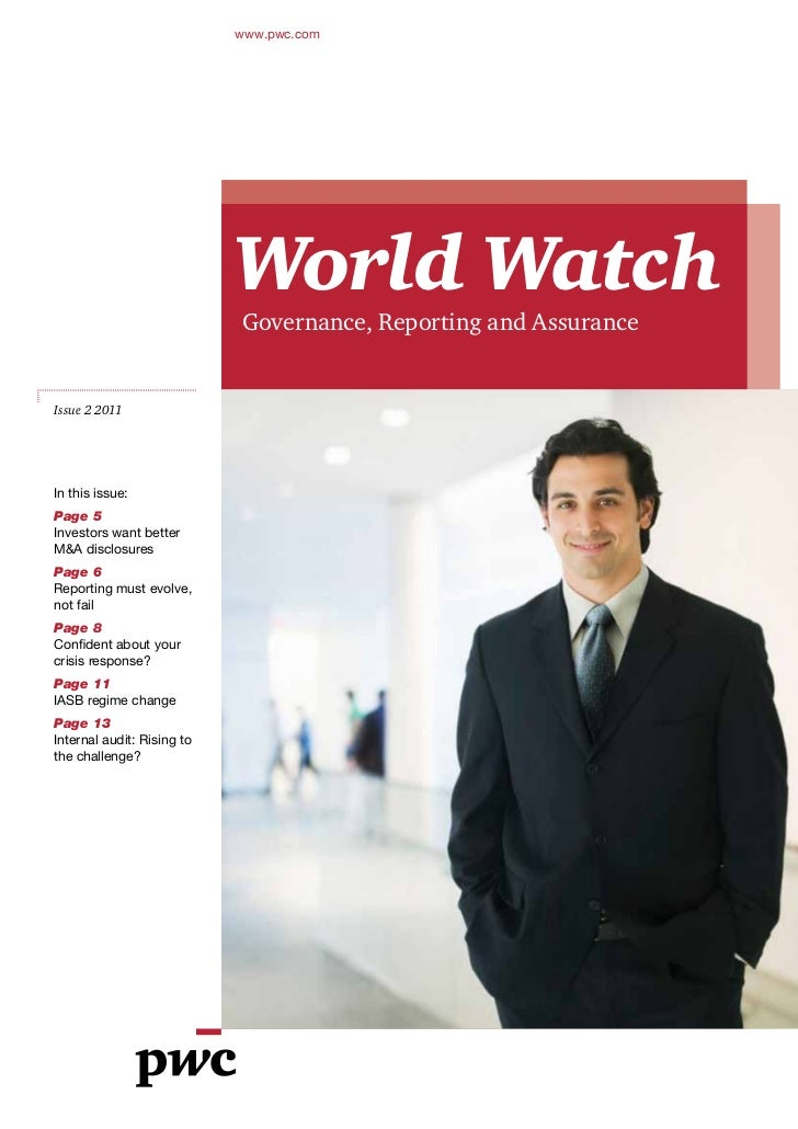 www.pwc.com                            World Watch                            Governance, Reporting and AssuranceIssue 2 2...