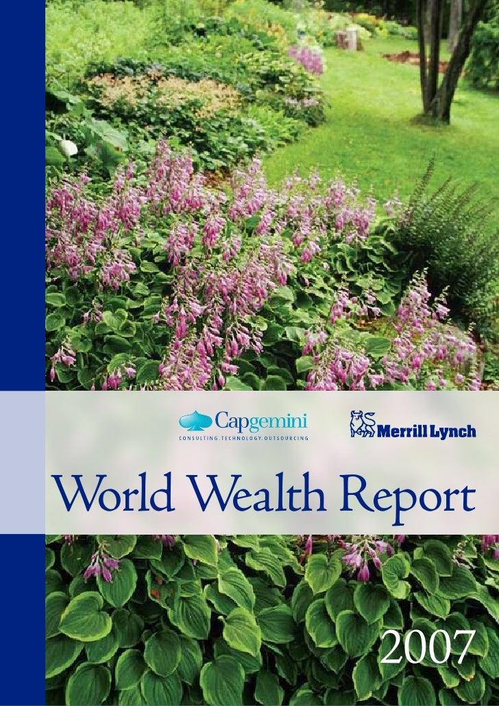 World Wealth Report              2007