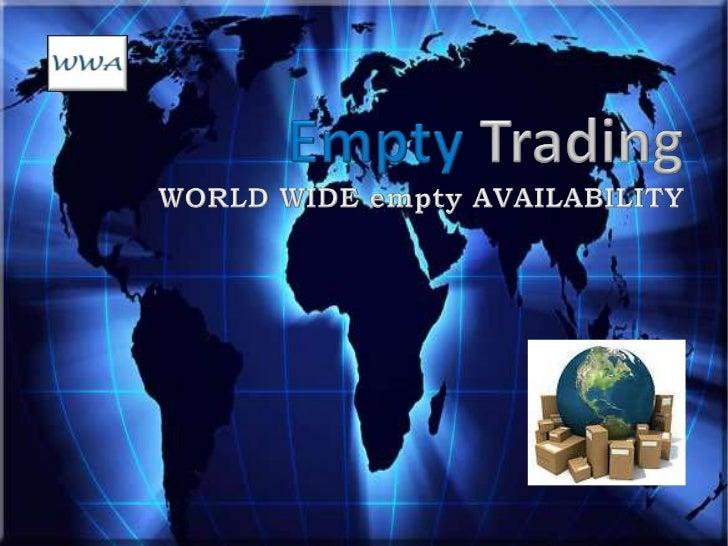 Worldwide  empty-availability