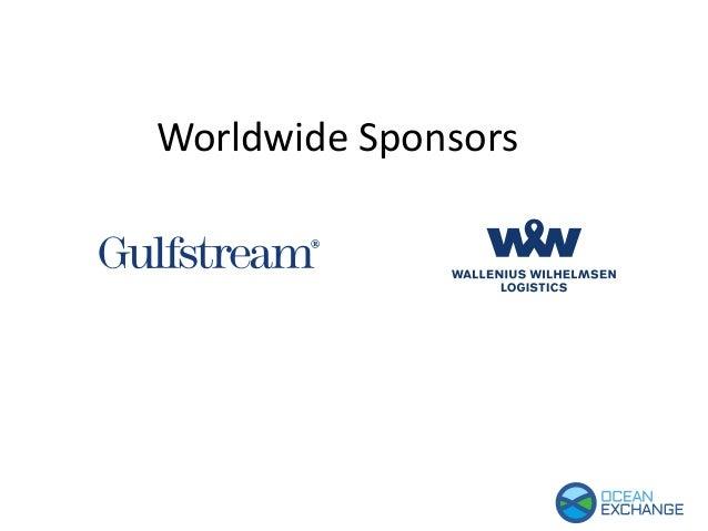 Worldwide sponsors