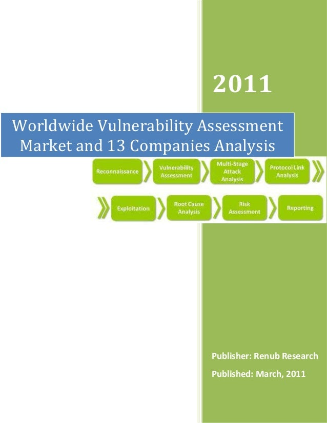 Worldwide vulnerability assessment market and 13 companies analysis