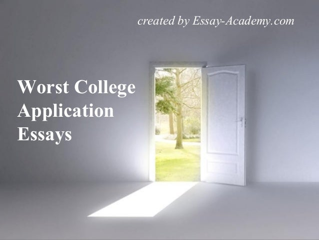share college essays and exams
