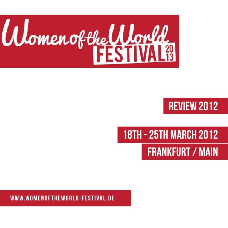 REVIEW 2012                                                18th - 25th March 2012                                         ...