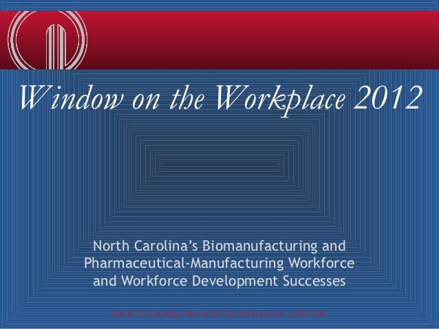 Window on the Workplace 2012
