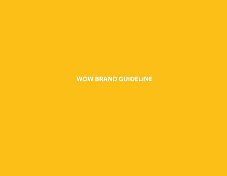 WOW BRAND GUIDELINE