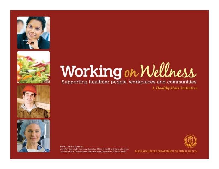 Working on Wellness