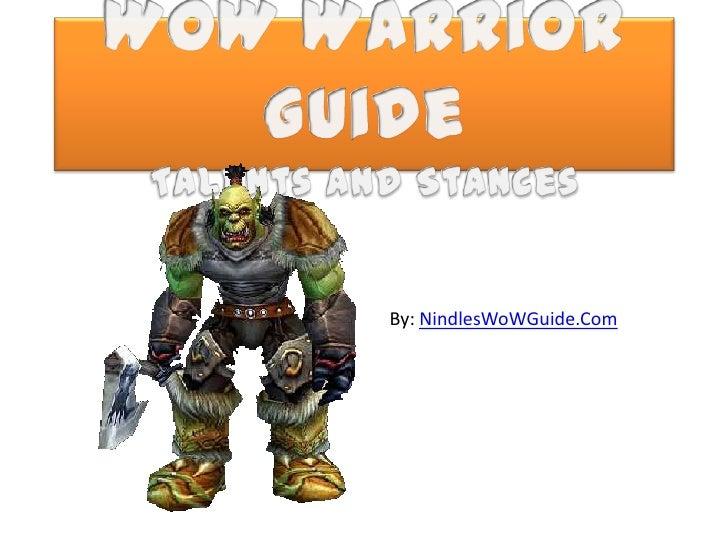 Wo w warrior guide
