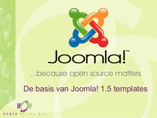 Workshop Joomla! templates 2010