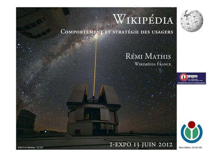 Le public de Wikipédia, autonomie et médiation - i-expo