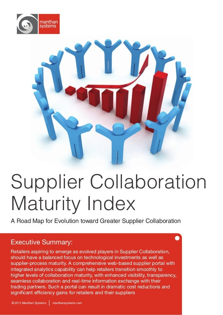 Whitepaper: Supplier Collaboration Maturity Index - A Road Map for Evolution toward Greater Supplier Collaboration