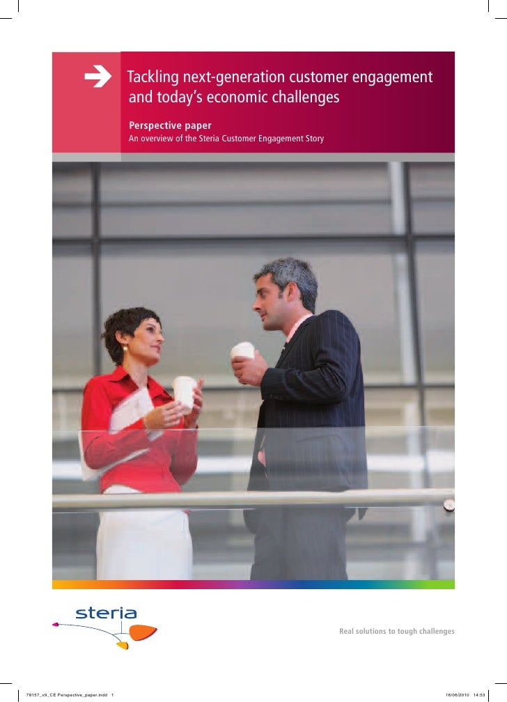 Tackling next-generation customer engagement and today's economic challenges