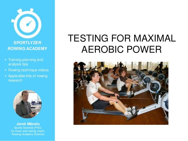  Training planning and analysis tips  Rowing technique videos  Applicable bits of rowing research Jarek Mäestu Sports S...