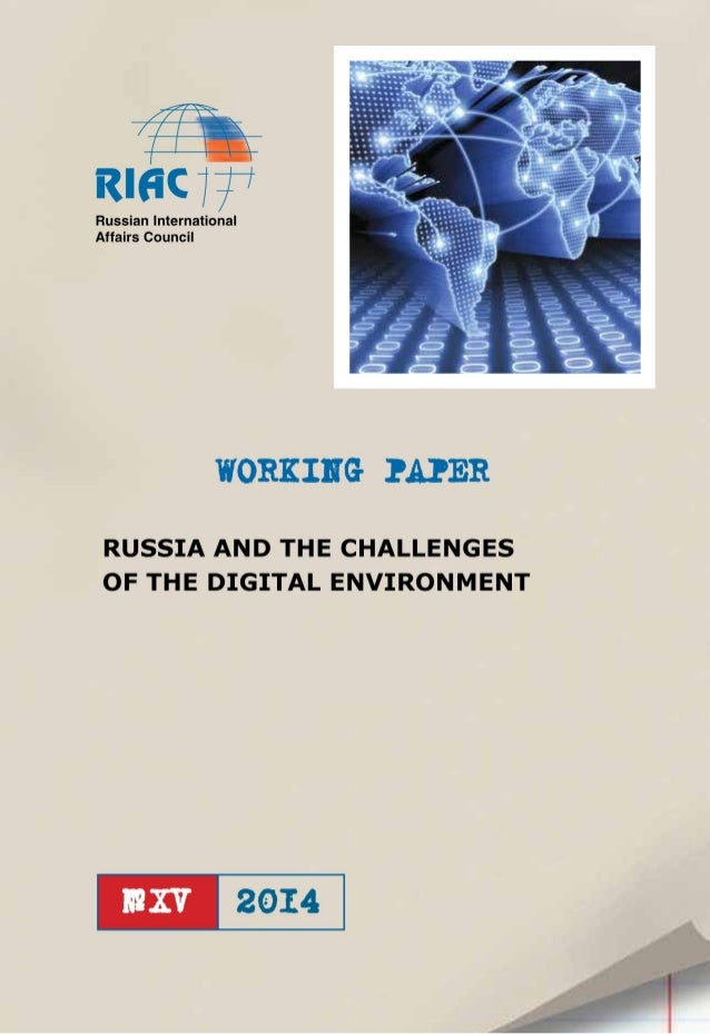 Russia and the Challenges of the Digital Environment