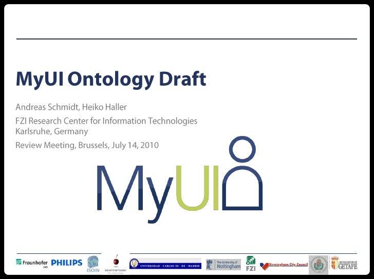 myUI Ontology