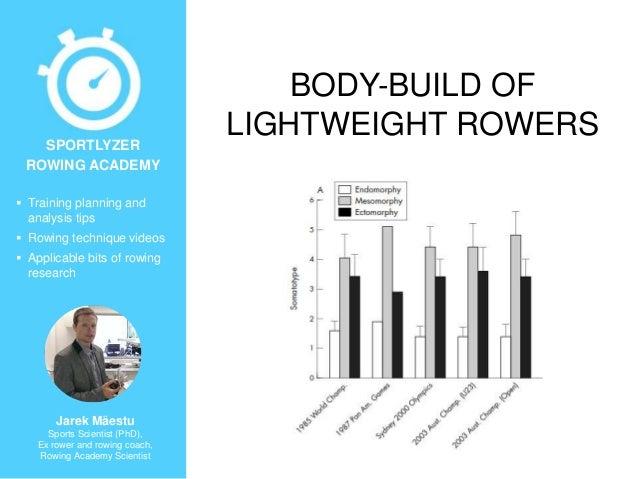 Body-build of lightweight rowers