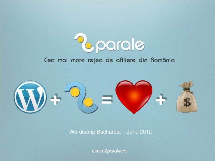 +              =                     +    Wordcamp Bucharest – June 2012