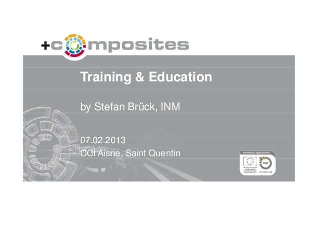 Training & Education in Composites