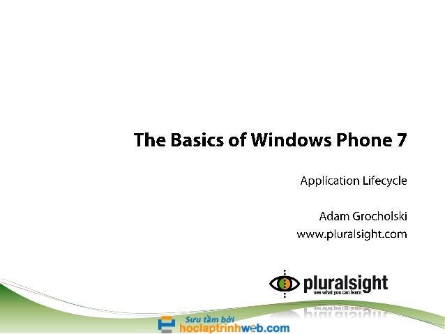 Wp7 basics-module-03-slides
