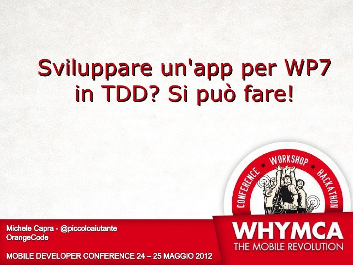 Developing application for Windows Phone 7 in TDD