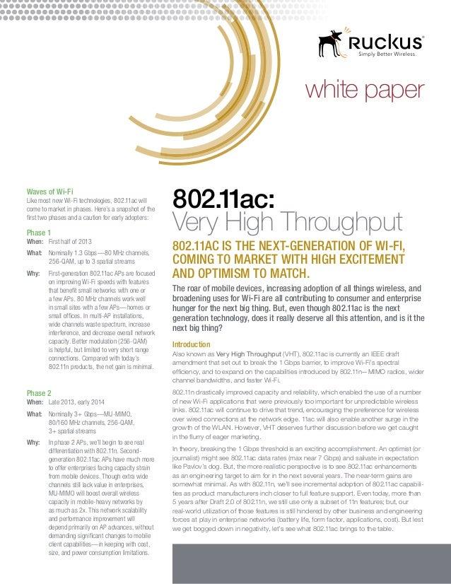 802.11ac whitepaper