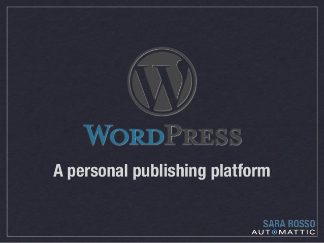 Using WordPress as a website (not a blog)