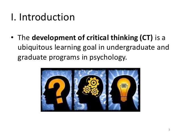 6 skills of critical thinking