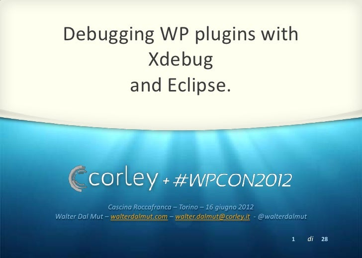 Remote debugging with Xdebug and Eclispe