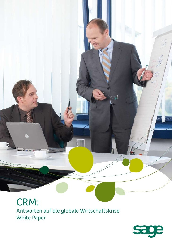 Antworten auf die globale Wirtschaftskrise - CRM