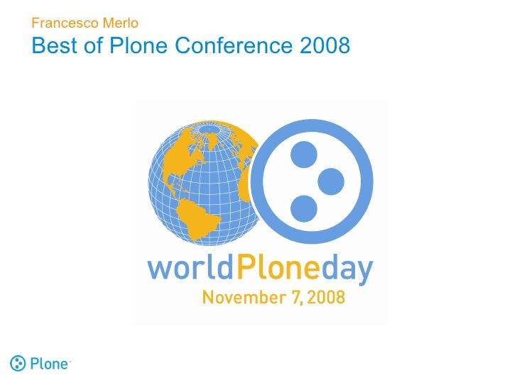 Best Of Plone Conference