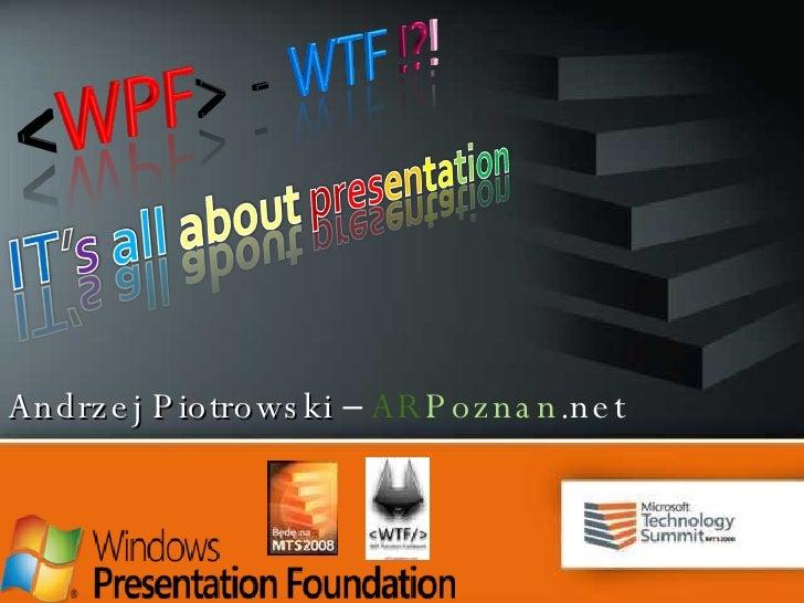 Andrzej   Piotrowski   –  AR Poznan .net
