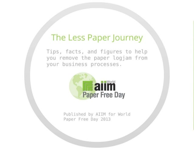 The Paperless (or at Least Less Paper) Journey