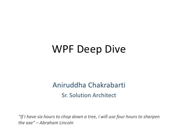 WPF Deep Dive