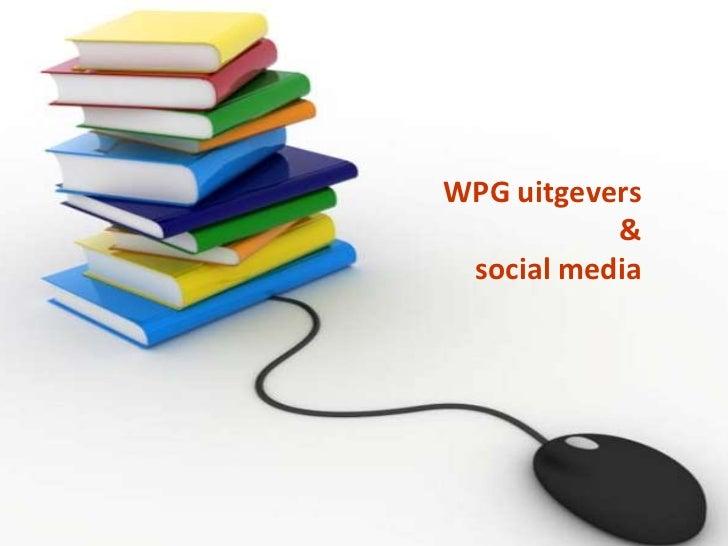 WPG uitgevers & social media<br />
