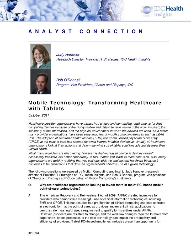 Wp idc healthcare_analyst_connection_111104