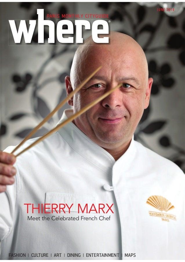 Magazine Where Paris n°245, english edition, daté juin 2014, Jean-louis Roux-Fouillet