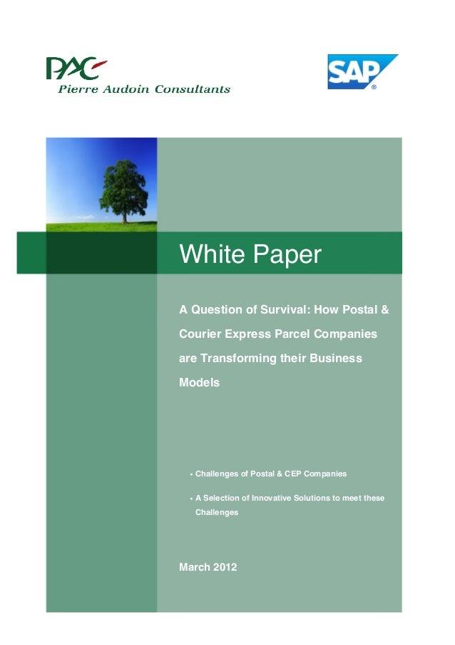 White Paper Postal