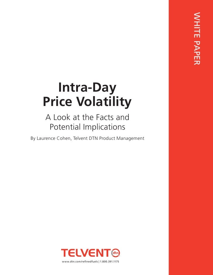 WHITE PAPER         Intra-Day      Price Volatility          This document requires Adobe Reader version 6.0.1 or        A...