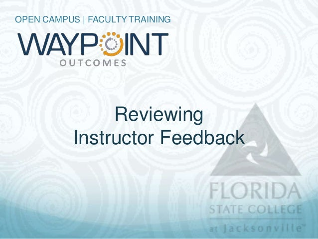 Waypoint - Students Can Review Feedback