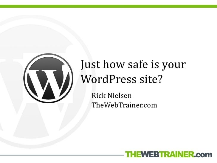 How To Secure Your WordPress Blog
