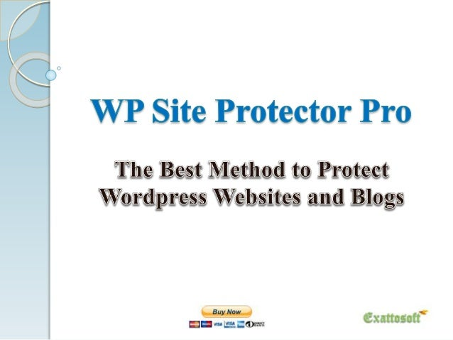 WP Site Protector Pro WP Site Protector Professional is a wordpress security plugin, which applies full protection on word...