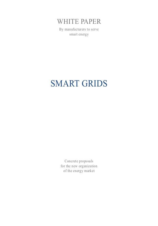 White Paper Smart grids